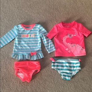 Other - 2 toddler girl swim suits